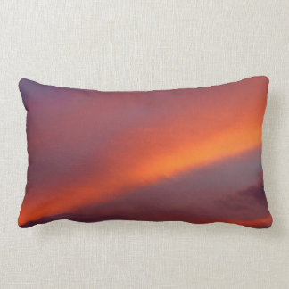 Pink cloud lumbar cushion