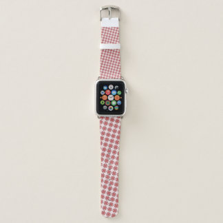 Pink Clover Ribbon by Kenneth Yoncich Apple Watch Band