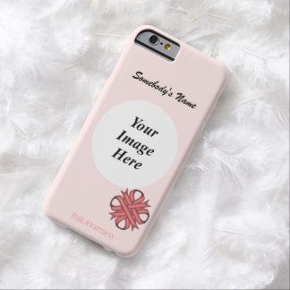 Pink Clover Ribbon Tmpl by Kenneth Yoncich Barely There iPhone 6 Case