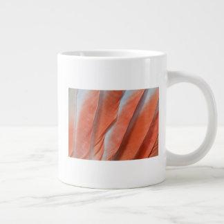 Pink Cockatoo Feather Design Large Coffee Mug