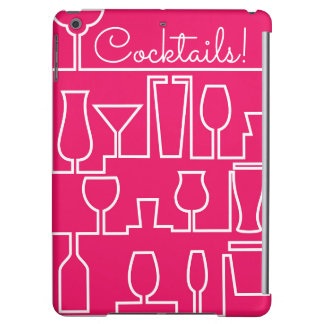 Pink cocktail party case for iPad air