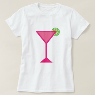 Pink Cocktail With Lime T-Shirt