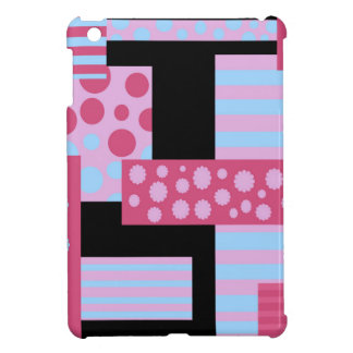 Pink collage iPad mini cover