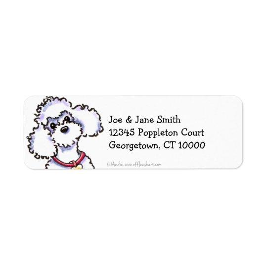 Pink Collar Poodle Clean & Simple