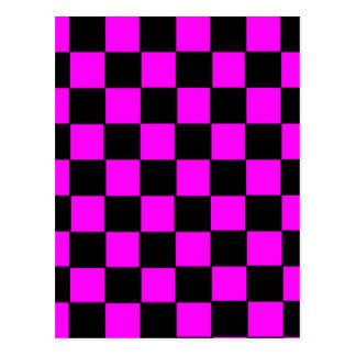 Pink Color Box Image Postcard