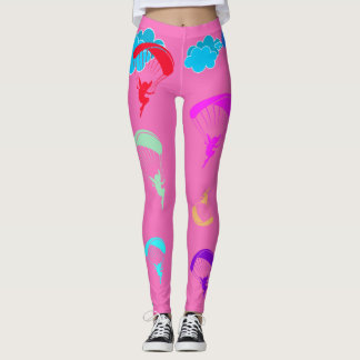 Pink Colorful Pixie Leggings