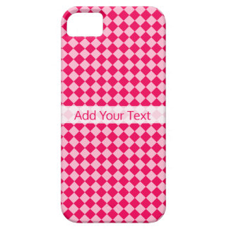 Pink Combination Diamond Pattern by Shirley Taylor iPhone 5 Cover