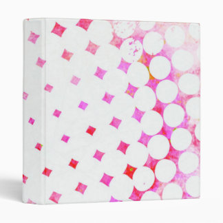 Pink Comic Book Blast Design 3 Ring Binders