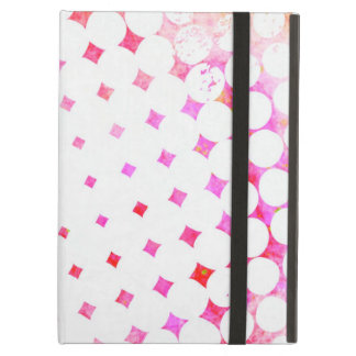 Pink Comic Book Blast Design iPad Air Cover