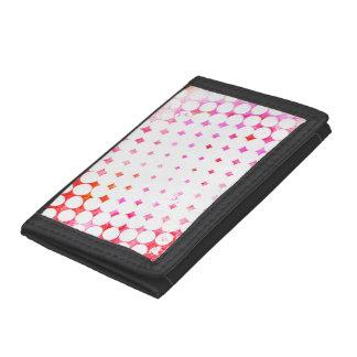Pink Comic Book Blast Design Tri-fold Wallet