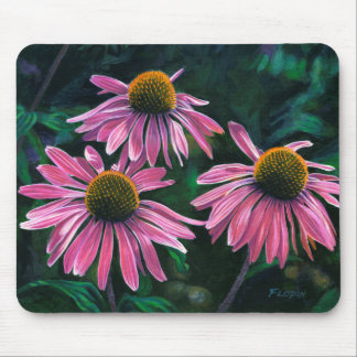 Pink Cone Flowers - Mouse Pad