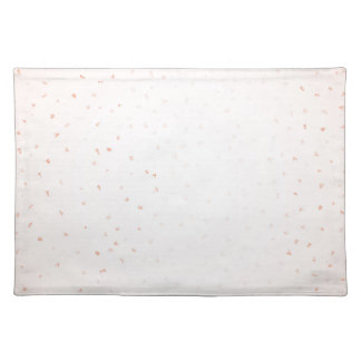 Pink Confetti Falling Placemat