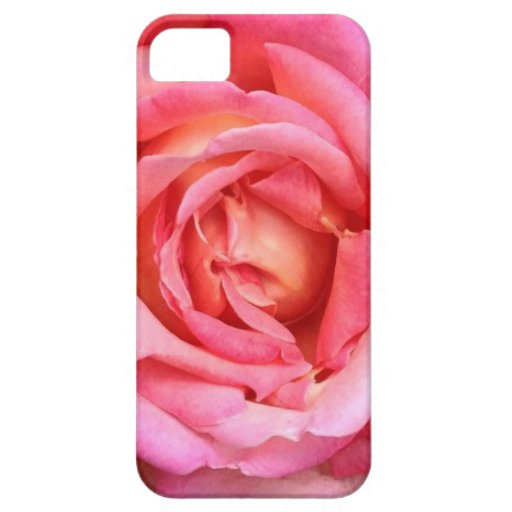 Pink Coral English Garden Rose Phone Case / Cover iPhone 5/5S Case