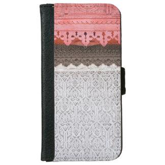 Pink Coral House Door Wallet Case