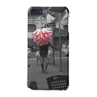 Pink cotton candy man iPod touch 5G cover