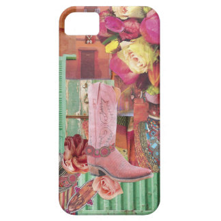Pink Cowboy Boot iPhone 5 Case