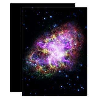 Pink Crab Nebula Card