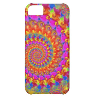 Pink Crazy Fractal iPhone 5C Covers