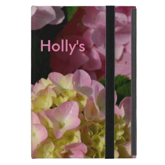 Pink & Cream Hydrangeas Cover For iPad Mini