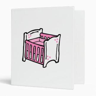 pink crib 3 ring binders