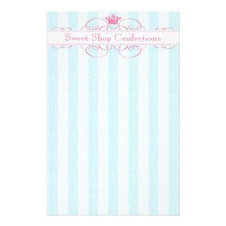 Pink Crown Sweet Shop Flyer