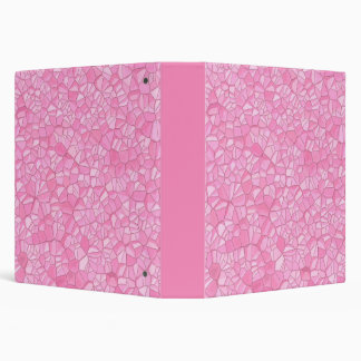 "Pink crystal 1.5"" Binder"