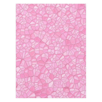 """Pink crystal Cotton Tablecloth, 52""""x70"""" Tablecloth"""