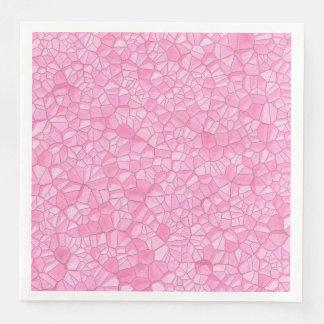 Pink crystal Dinner Paper Napkins