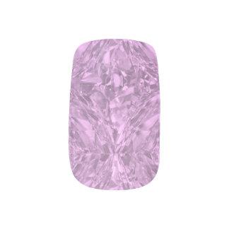 Pink Crystal Nail Art