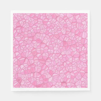 Pink crystal Paper Napkin