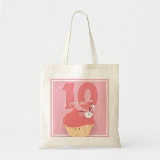Pink Cupcake Birthday | Basic Tote
