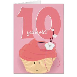 Pink Cupcake Birthday | Birthday Card