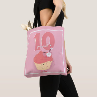 Pink Cupcake Birthday | Tote Bag