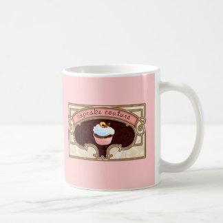 Pink Cupcake Couture Sign Logo Banner Coffee Mug