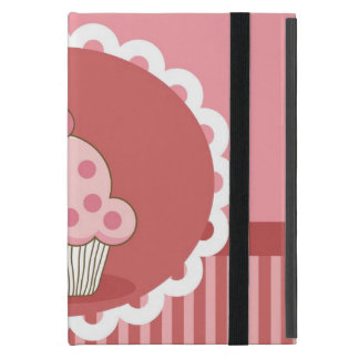 Pink Cupcake Design iPad Mini Cases