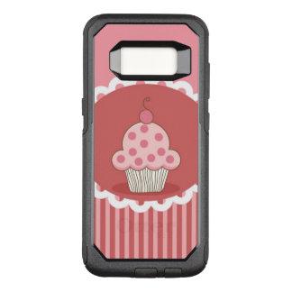Pink Cupcake Design OtterBox Commuter Samsung Galaxy S8 Case