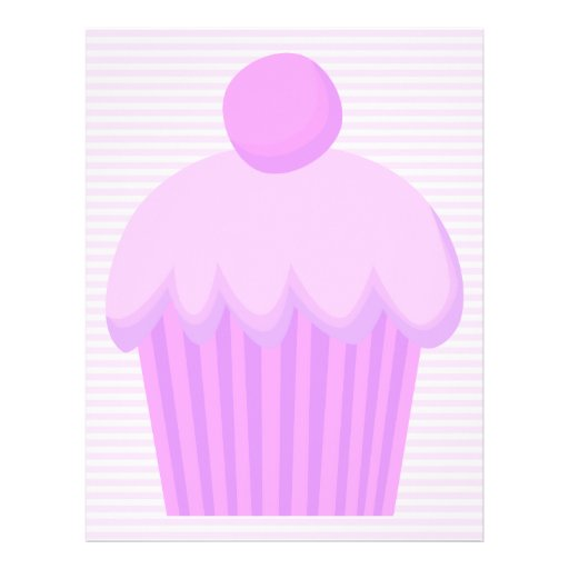 Pink Cupcake. Full Color Flyer