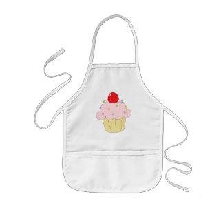 Pink Cupcake Kids Apron