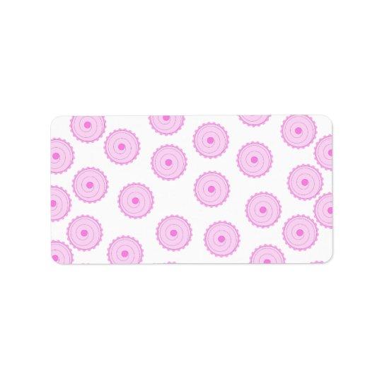 Pink Cupcake Pattern.