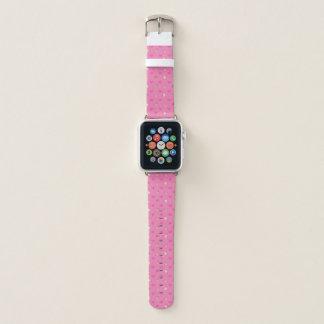 Pink Cupcake Pattern Apple Watch Band