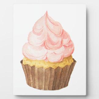 pink cupcake plaque