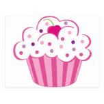 Pink Cupcake Post Card