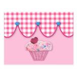 Pink Cupcake Recipe Card