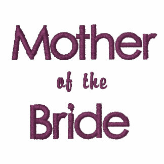 Pink & Currant Mother of the Bride Wedding T-Shirt