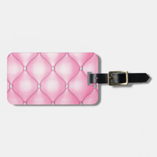 Pink Cushion Luggage Tag