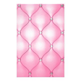Pink Cushion Stationery
