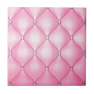 Pink Cushion Tile