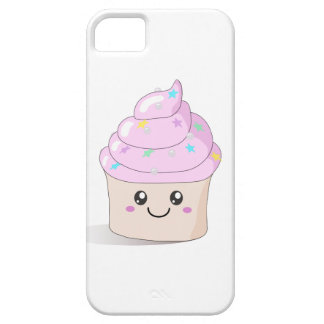 Pink Cute Cupcake iPhone 5 Covers