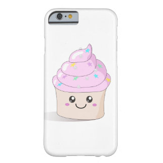 Pink Cute Cupcake Barely There iPhone 6 Case