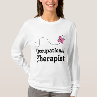 Pink Cute Occupational Therapist T-Shirt